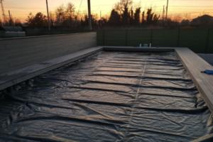 Come curare una piscina fuori terra in inverno